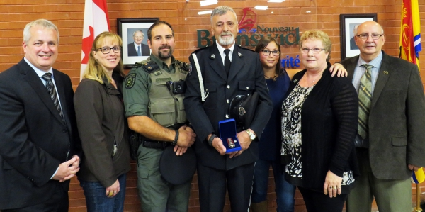 Thibodeau honoured for his work